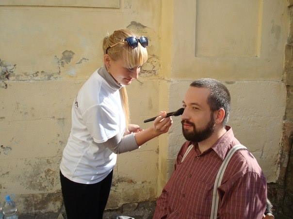 Петро Нек і макіяж