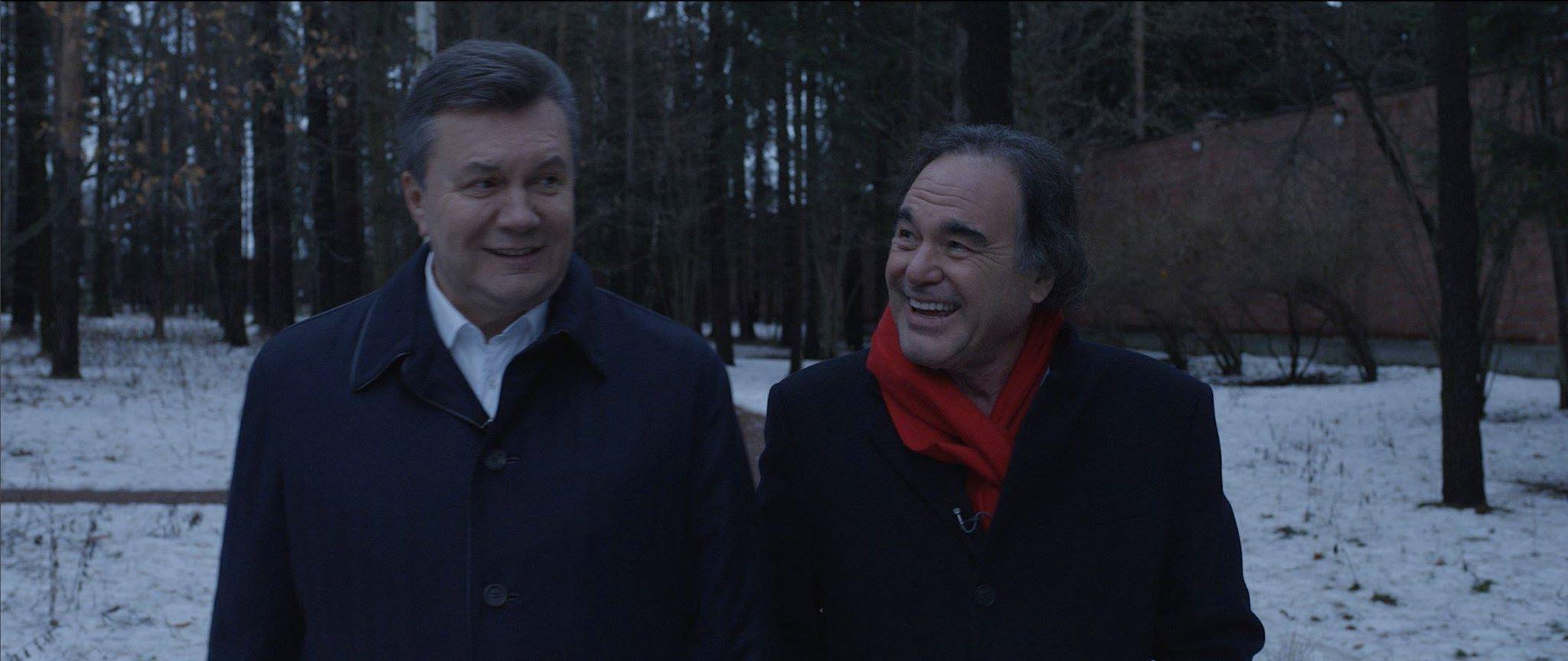 Олівер Стоун та Янукович