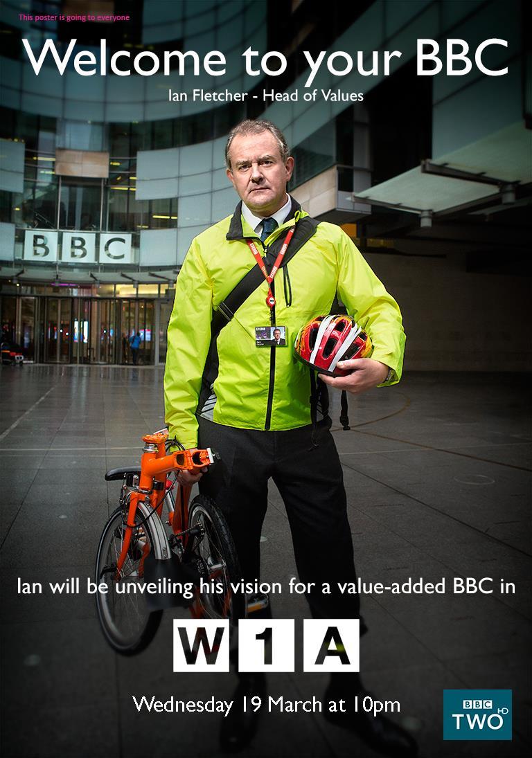 Новий серіал від BBC — W1A