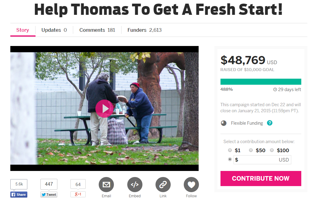 2014-12-24 12-01-33 Help Thomas To Get A Fresh Start!   Indiegogo – Yandex