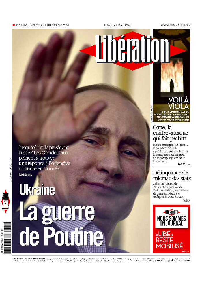 Liberation: Ukraine La guerre de Poutine