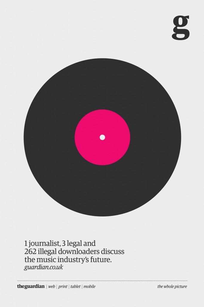 1 журналіст, 3 легальних користувача і 262 пірати дискутують про майбутнє музичної індустрії