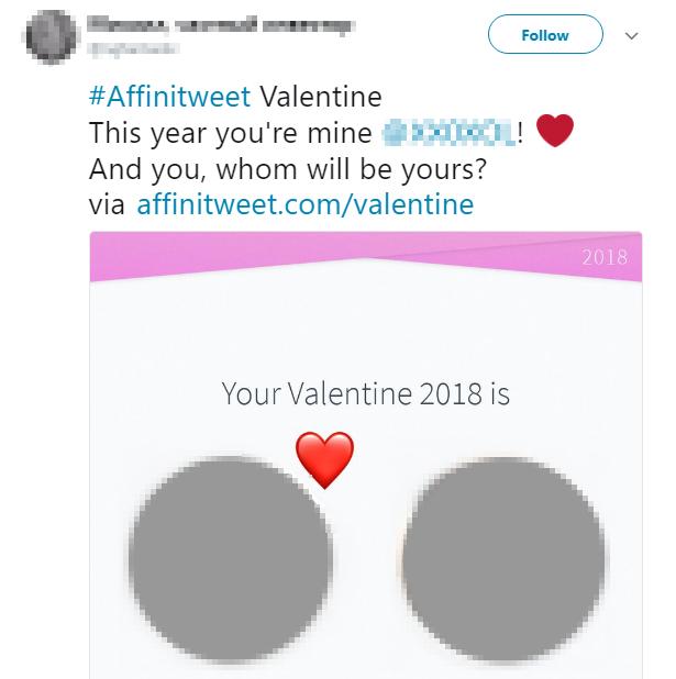 Ти мій твітер Валентин