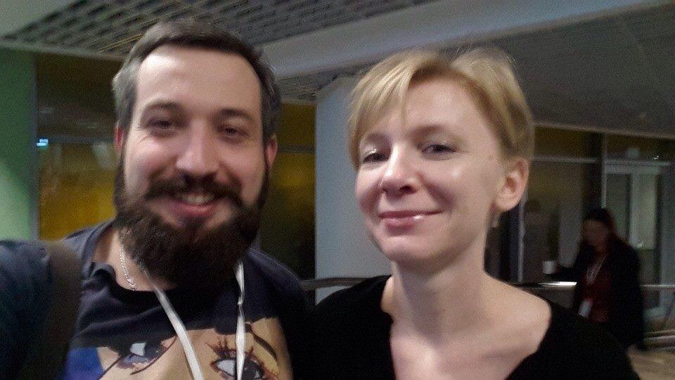 Петро Нек та Катя Горчинська