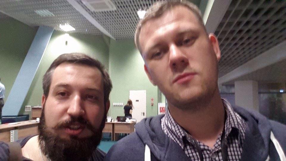 Петро Нек та Денис Казанцев