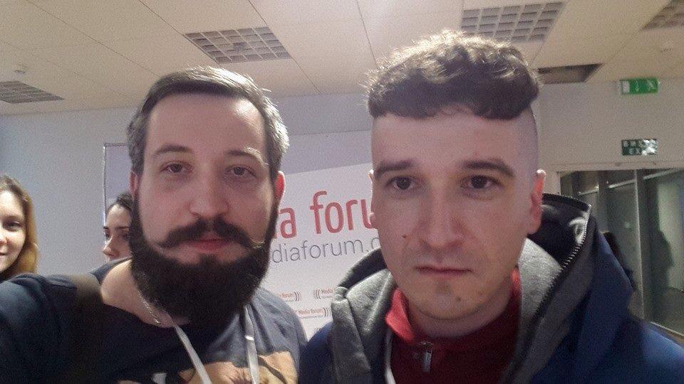 Петро Нек та Отар Довженко