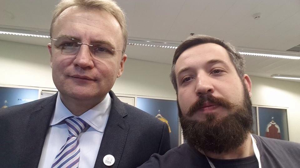 Андрій Садовий та Петро Нек