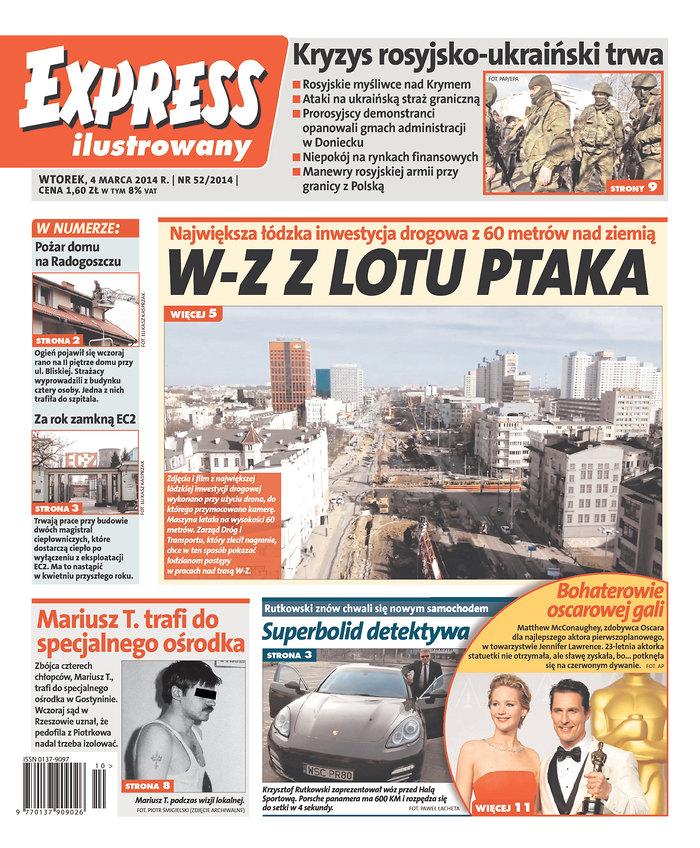 Express ilustrowany: Kryzys rosysko-ukrainski trwa